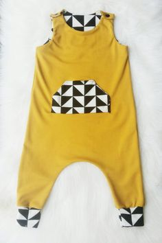 Little muse RETRO Romper / Playsuit / Jumper / by MamisLittleMuse