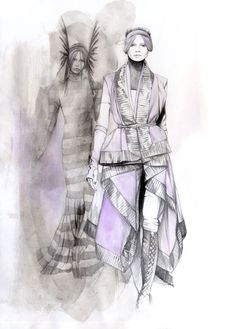 Caroline Andrieu Fashion Illustrations | Trendland: Fashion Blog & Trend Magazine