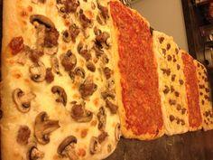 Alot of piizza