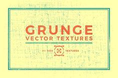 Grunge Vector Textures by QueenHandcrafts on @creativemarket