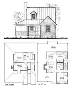 [ Small House Plans Interior Design High Quality For Houses Tiny Cottage ] - Best Free Home Design Idea & Inspiration Small Tiny House, Tiny House Cabin, Tiny House Living, Modern House Plans, Small House Plans, House Floor Plans, Small Houses, The Plan, How To Plan