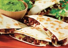 Easy barbecue quesadillas add a kick to your midday meal. - Capper's Farmer Magazine