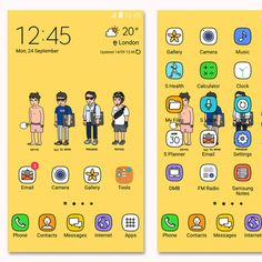 Icon Design, Web Design, Cute Themes, Ui, 24 September, App Icon, Homescreen, Backgrounds, Android