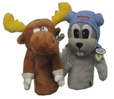 Bullwinkle & Rockie Oversized Headcover Combo at Golf Headcovers, Golf Umbrella, Golf Accessories, Golf Outfit, Ladies Golf, Golf Shoes, Golf Ball, Bowser, Teddy Bear