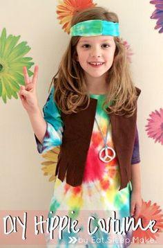 @EatSleepMAKE.: DIY Kid's Hippie Halloween Costume Tutorial #MichaelsMakers