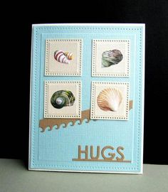 SC543 Shells by catluvr2 - Cards and Paper Crafts at Splitcoaststampers
