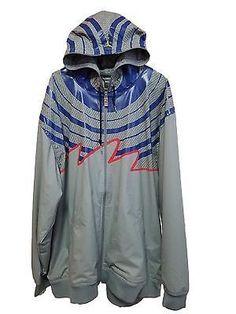 d6b2f3d0236e0 Nike Jordan Fusion AJF Mens Hooded Windbreaker Jacket (3XL