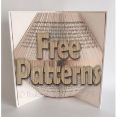 View all of the FREE Book Folding Patterns that Bookami has to offer. Just starting out in book folding? Would like to just dip your toe in the water? Why not try some of our Free Bookfolding Patterns to get you started? Create fabulous 3D book art follow