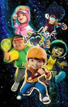 Galaxy Movie, Anime Galaxy, Boboiboy Galaxy, Boboiboy Anime, Some Pictures, Best Friends, Wallpaper, Cc Cream, Fictional Characters