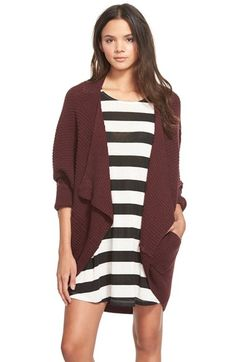 BP.+Rib+Cocoon+Cardigan+available+at+#Nordstrom