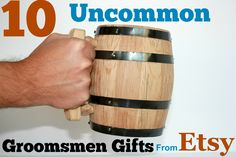 Uncommon groomsmen gifts found on Etsy -- 10 unique ideas that haven't been overdone!