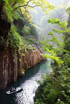 Takachiho Gorge, Miyazaki, Japan Now I know why everyone goes into rhapsodies over Miyazaki ken!
