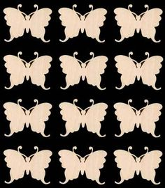 Butterfly BUY The DOZEN 1.5 inches Natural Craft by TexasArtCraft, $8.99