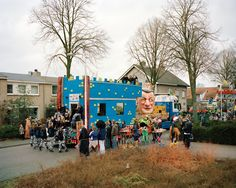 Attack of the giant tinned squid: bizarre Dutch parades – in pictures