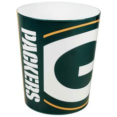 Green Bay Packers Waste Basket at the Packers Pro Shop http://www.packersproshop.com/sku/2008230013/