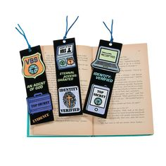 Color Your Own Agents of Truth VBS Bookmarks - OrientalTrading.com
