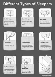 "#different #sleep #possitions - We would just add ""The Holey Sleeper"" -> http://www.holeyquilt.com :)"