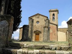La Pieve di Sant'Appiano (The parish church of Sant'Appiano) in the Chianti region, Tuscany