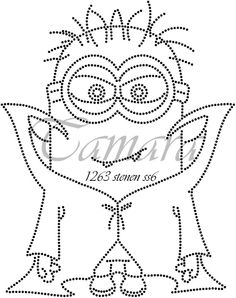 Pvc Pipe Projects, String Art Patterns, Rhinestone Transfers, Minions, Templates, Embroidery, Stitch, Rhinestones, Sequins