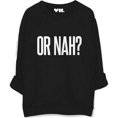sweatshirts | pop culture + music + ego | 7twentyfour.com ($62) via Polyvore