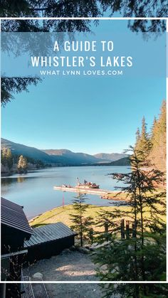 Whistler Canada is internationally recognized as a world-class ski resort yet it's still pretty unknown as a summer destination, which I find incredible. Lakeside Park, Lake Park, Patagonia, Rainbow Park, Alta Lakes, Canada Summer, Green Lake, Summer Pictures, Whistler