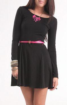 Belted Nollie Dress