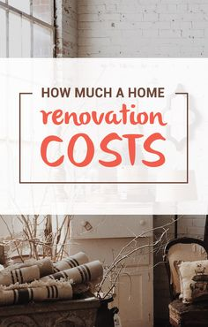 home remodeling expenses