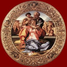 Michelangelo's The Holy Family