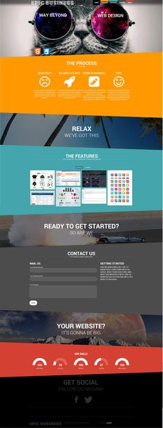Epic Business Consulting website