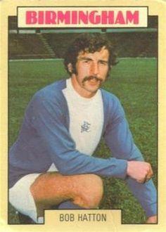 1973-74 A&BC Gum #65 Bob Hatton | The Trading Card Database Birmingham City Fc, Trading Card Database, Football Cards, Bob, Stickers, Sports, Soccer Cards, Hs Sports, Bob Cuts