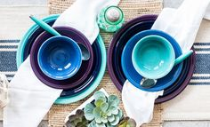 Fiesta Dinnerware announces its new color for 2018 - Mulberry! Available in June at better department stores, gift shops, .coms and www.fiestafactorydirect.com.