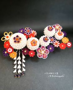 Biscuit, Japanese Hairstyle, Head Accessories, Couture, Paper Crafts, Stud Earrings, Ornaments, Diwali, Lovers