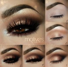 Kim Kardashian Smoky Eye Makeup Tutorial - 15 Celeb-Inspired Makeup Tutorials to Copy Right Now | GleamItUp