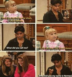 Michelle is so cheeky! Full House Memes, Full House Funny, Full House Quotes, Ice Queen Adventure Time, Michelle Tanner, Uncle Jesse, John Stamos, Fuller House, Old Disney