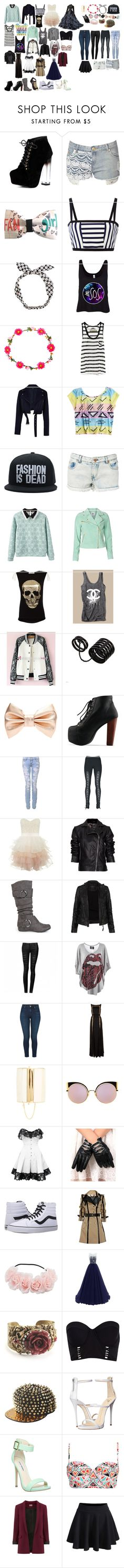 """my style 13"" by keeliewatsonoffical ❤ liked on Polyvore featuring Jane Norman, Tanya Taylor, Enza Costa, TIBI, Vero Moda, Misumi, Chanel, Munai, ASOS and Lipsy"