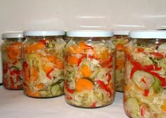 Fresh Rolls, Pickles, Tapas, Mason Jars, Food And Drink, Homemade, Canning, Ethnic Recipes, Health