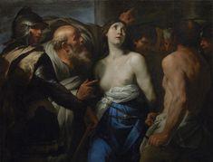maertyrer: Andrea VaccaroThe Martyrdom of Saint Agathaca. 1635-1640