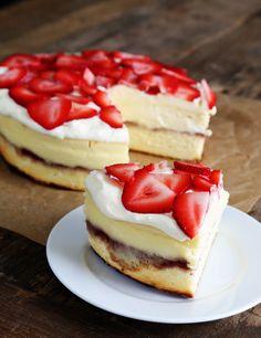 Gluten Free Strawberry Shortcake Cheesecake
