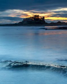 Castle dawn   by malcbawn.photos Dawn, Castle, England, Mountains, Nature, Photos, Travel, Naturaleza, Pictures