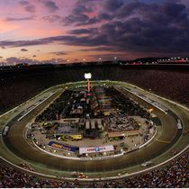 Bristol Motor Speedway under the lights!!