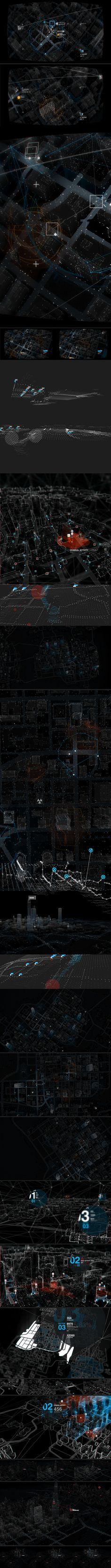 WATCH_DOGS : The Grid by Timothe Lapetite, via Behance