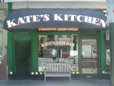Kate's Kitchen - Homecooking at it's finest.  Breakfast served all day (french toast, omelettes, biscuits, pancakes.)  Cash only.