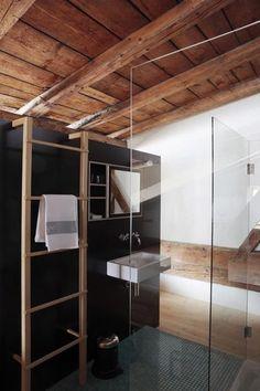 Et aussi : Une salle de bains totalement ouverte pour une impression de grandeur