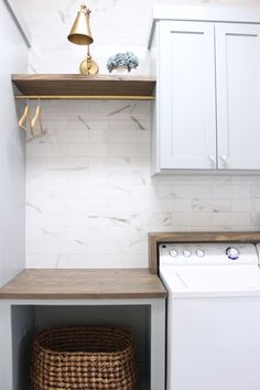Mudroom Laundry Room, Laundry Room Layouts, Laundry Room Remodel, Laundry Room Cabinets, Laundry Decor, Farmhouse Laundry Room, Laundry In Bathroom, Diy Cabinets, Laundry Room Small