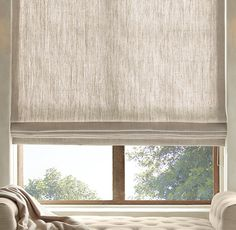 5 Smooth Clever Tips: Bamboo Blinds With Valance roller blinds makeover.Wooden Blinds Living Room lined bamboo blinds. Windows, Kitchen Blinds, Living Room Blinds, Window Treatments, Window Coverings, Flat Roman Shade, Bamboo Blinds, Curtains, Diy Blinds