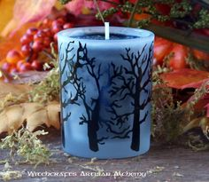 Witchcrafts Artisan Alchemy - BLACK CAULDRON BREW Signature Scent Haunted Forest Edition Votive Container Candle,  (www.witchcraftsar...)