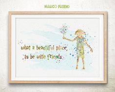 Dobby - Harry Potter, Movie, Watercolor Print, Home Decor, Gift, Art Print, Poster, Wall Decor