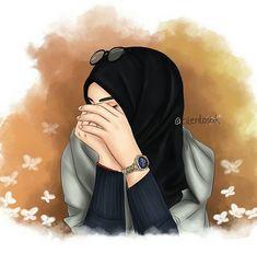 Closed girl drawing - hijab girl drawing / hijab anime drawing 'hijabA scarf is a vital part inside garmen Hijab Anime, Anime Muslim, Hijabi Girl, Girl Hijab, Orange Anime, Hijab Drawing, Drawing Art, La Ilaha Illallah, Islamic Cartoon