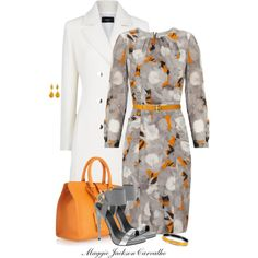 Floral Dress, created by maggie-jackson-carvalho on Polyvore