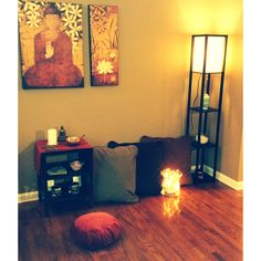 It may be easier to quiet the mind in meditation in a space dedicated to stillness. Learn how to create a meditation space in your home.